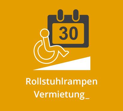 Rollstuhlrampen Vermietung