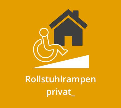 Rollstuhlrampen privat