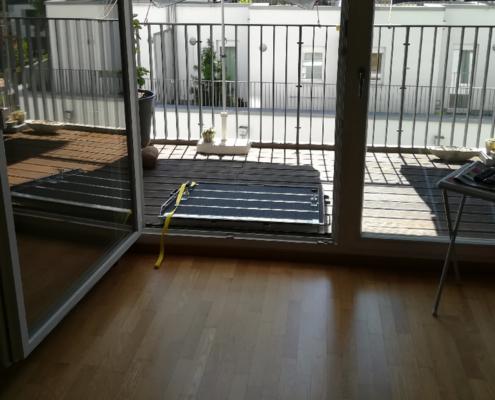 Rampe am Balkon