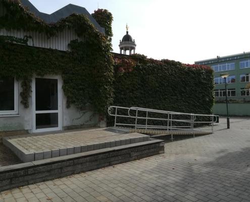 Rollstuhlrampe Mensa Potsdam