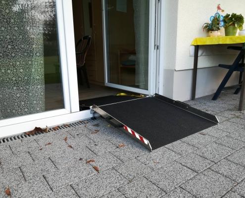 Terrassenrampe außen